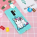 cheap Cell Phone Cases & Screen Protectors-Case For Samsung Galaxy S9 Plus / S8 Plus Pattern / DIY Back Cover Unicorn Soft TPU for S9 / S9 Plus / S8 Plus