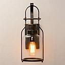 رخيصةأون شمعدان الحائط-أنتيك / عتيق مصابيح الحائط غرفة الجلوس / غرفة الطعام معدن إضاءة الحائط 110-120V / 220-240V 60 W