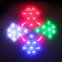 povoljno Svjetla za bicikle-Laser LED Svjetla za bicikle Stražnje svjetlo za bicikl sigurnosna svjetla Brdski biciklizam Bicikl Biciklizam Vodootporno New Design Punjiva Lithium-ion baterija USB 200 lm Bijela Crveno Plavo / ABS