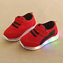 povoljno Dječje tenisice-Dječaci / Djevojčice Udobne cipele / Svjetleće tenisice Mrežica Sneakers Dijete (9m-4ys) / Mala djeca (4-7s) Kopčanje na kukicu / LED Zelen / Plava / Pink Jesen zima