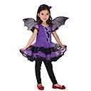 cheap Halloween Party Supplies-Kids / Toddler Girls' Solid Colored Short Sleeve Dress