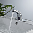 cheap Bathroom Sink Faucets-Bathroom Sink Faucet - Sensor Chrome Free Standing Single Handle One Hole