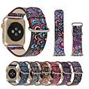 baratos Smartwatch Acessórios-Pulseiras de Relógio para Apple Watch Series 4/3/2/1 Apple Pulseira de Couro Couro Legitimo Tira de Pulso