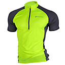 cheap Cycling Jerseys-Nuckily Men's Short Sleeve Cycling Jersey - Pink Grey Light Green Bike Jersey Top Breathable Quick Dry Ultraviolet Resistant Sports Polyester Mountain Bike MTB Road Bike Cycling Clothing Apparel