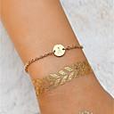 preiswerte Modische Armbänder-Damen Stilvoll Ketten- & Glieder-Armbänder - Buchstabe damas, Einfach, Modisch Armbänder Schmuck Gold Für Alltag Ausgehen
