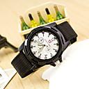 ieftine Ceas Militar-Bărbați Ceas Militar Ceas de Mână Quartz Ceas Casual Pânză Bandă Analog Modă Negru / Albastru / Verde - Negru Verde Albastru