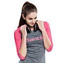 baratos Camisas Para Ciclismo-SANTIC Mulheres Camisa para Ciclismo Moto Camiseta / Camisa / Roupas Para Esporte / Blusas Resistente Raios Ultravioleta, Respirável, Resistente a UV Retro, Retalhos, Clássico Rosa claro Roupa de