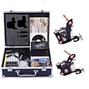 cheap Temporary Tattoos-Tattoo Machine Professional Tattoo Kit - 2 pcs Tattoo Machines, Handmade / Relaxed Fit / Voltage Adjustable LCD power supply 2 steel