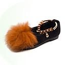 ieftine Pantofi Fetițe-Fete Pantofi Piele de Căprioară Toamna iarna Pantofi Fata cu Flori Pantofi Flați Plimbare Pene pentru Copii Negru / Gri / Galben