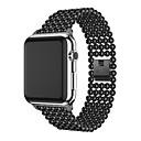 baratos Smartwatch Acessórios-Liga Pulseiras de Relógio Alça para Apple Watch Series 3 / 2 / 1 Preta 18cm / 7 Polegadas 2.2cm / 0.9 Polegadas