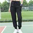 זול בגדי ריצה-בגדי ריקוד נשים מכנסיים רצים מכנסי ריצה מסלול מכנסי ספורט קרן רגל ספורט חורף מכנסי טרנינג תחתיות כושר וספורט כושר אמון להתאמן נושם ייבוש מהיר רך מידות גדולות אחיד שחור אפור S M L XL XXL XXXL