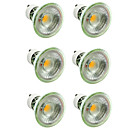 cheap LED Spot Lights-6pcs 5 W 500 lm GU10 / MR16 LED Spotlight 1 LED Beads COB Dimmable / Decorative Warm White / Cold White 220-240 V