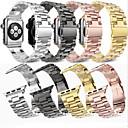 billige Smartklokke Tilbehør-Klokkerem til Apple Watch Series 4/3/2/1 Apple Klassisk spenne Stål / Rustfritt stål Håndleddsrem