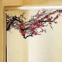 tanie Naklejki ścienne-Folie okienne i naklejki Dekoracja Klasyczny / Wzornictwo chińskie Kwiat Polichlorek winylu Naklejka okienna