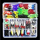 お買い得  ルアー/フライ-141 pcs ルアー ハードベイト ソフトベイト 混合材 使いやすい フローティング 海釣り フライフィッシング ベイトキャスティング / 穴釣り / スピニング / ジギング / 川釣り / 鯉釣り