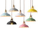 abordables Lámparas Colgantes-Mini Lámparas Colgantes Luz Ambiente Acabados Pintados Metal Mini Estilo 110-120V / 220-240V Bombilla no incluida / E26 / E27
