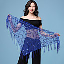 cheap Dance Accessories-Belly Dance / Dance Accessories Hip Scarves Women's Training / Performance Spandex Paillette Holiday / Glamour Girl Hip Scarf