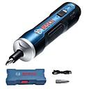 billige Elektriske skrutrekkere-Bosch mini håndholdt justerbar elektrisk skrutrekker 3.6v 6 Gears Trådløst oppladbart verktøy