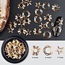 abordables Decoraciones y Diamantes Sintéticos para Manicura-1 pcs Lentejuelas Clásico / Diseño delgado Tema Clásico Vacaciones arte de uñas Manicura pedicura Navidad / Diario Vintage / Coreano
