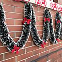 olcso Karácsonyi dekoráció-Ünnepi Dekoráció Karácsonyi dekoráció Karácsonyi díszek Dekoratív Arany / színsáv / Piros 1db