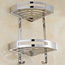billige Baderomshyller-Hylle til badeværelset Nytt Design / Kul Moderne Rustfrit stål / jern 1pc Vægmonteret