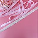 זול סרטי כתף למסיבות-סטן\טול חתונה / אירוע מיוחד אבנט עם דמוי פנינה בגדי ריקוד נשים אבנטים