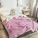 ieftine Montaj Flush-Paturi de pat, Geometric Bumbac / Poliester îndesi pături