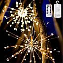 tanie Wtyczka i gniazdko elektryczne-YWXLIGHT® 1 szt. Noc LED Light Ciepła biel / RGB + Ciepły Zasilanie bateriami AA Wodoodporny / Zdalnie sterowany / Przygaszanie 5 V