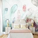 baratos Murais de Parede-papel de parede / Mural Tela de pintura Revestimento de paredes - adesivo necessário Pintura / Art Deco / Azulejo