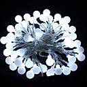levne LED pásky-HKV 10 m Světelné řetězy 100 LED diody Teplá bílá / Chladná bílá / R GB Párty / Ozdobné / Svatba 220-240 V 1ks