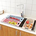 זול צנצנות ותיבות-ארגון המטבח סלסלות תלויות פלסטיק יצירתי / Creative מטבח גאדג'ט / קל לשימוש 1pc