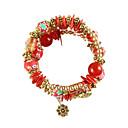 cheap Bracelets-Women's Retro Strand Bracelet - Fashion, Colorful Bracelet Red / Dark Red / Light Blue For Daily Festival