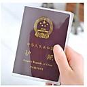 رخيصةأون الترتيب و التنظيم-2pc طحن شفافة غطاء جواز سفر للماء pvc حاملي بطاقة الهوية جوازات السفر حقيبة واقية الأكمام