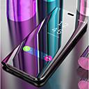 halpa iPhone kotelot-Etui Käyttötarkoitus Samsung Galaxy S9 / S9 Plus / S8 Plus Tuella / Peili / Flip Suojakuori Yhtenäinen Kova PU-nahka
