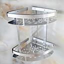 baratos Conjuntos de Torneiras-Prateleira de Banheiro Novo Design / Legal Moderna Aço Inoxidável 1pç Montagem de Parede