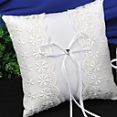 cheap Wedding Shoes-Lace / Plain Sateen Lace Satin Ring Pillow Pillow All Seasons