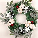 tanie Torby na ramię-Girlandy Święta Plastik Okrągły Nowość Świąteczna dekoracja