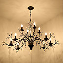 tanie Żyrandole-JLYLITE Żyrandol Światło rozproszone Malowane wykończenia Metal Styl MIni 110-120V / 220-240V