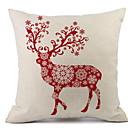 tanie Sztuczny kwiat-Pokrowiec na poduszkę Tkanina Kwadrat Nowość Świąteczna dekoracja
