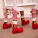 abordables Decoraciones Navideñas-Accesorios del partido Cubierta de Silla No tejido Navidad / Fiesta / Noche Navidad / Creativo No tejido