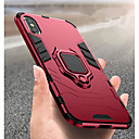 cheap iPhone Cases-Case For Apple iPhone XR / iPhone XS Max Shockproof / Ring Holder Back Cover Solid Colored Hard PC for iPhone XS / iPhone XR / iPhone XS Max