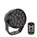 tanie Oświetlenie sceniczne-Oświetlenie LED sceniczne DMX 512 / Master-Slave / Aktywacja dźwiękiem na Impreza / Scena / Bar Łatwe przenoszenie / Lekki