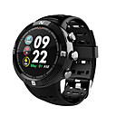 baratos Smartwatches-NO.1 F18 Relógio inteligente Android iOS Bluetooth satélite Esportivo Impermeável Monitor de Batimento Cardíaco Cronómetro Podômetro Aviso de Chamada Monitor de Atividade Monitor de Sono / Bússula