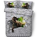 cheap 3D Duvet Covers-Duvet Cover Sets 3D Polyster Reactive Print 3 PieceBedding Sets / 3pcs (1 Duvet Cover, 2 Shams)