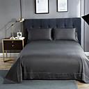 povoljno Kompleti posteljine-Stan list - 100% egipatskog pamuka Jacquard Jednobojni 1pc Stan list / 2kom jastučnice