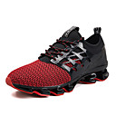 cheap Men's Athletic Shoes-Men's Comfort Shoes Mesh Spring & Summer Sporty / Casual Athletic Shoes Running Shoes Breathable Black / Red / Green