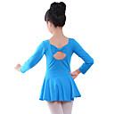 tanie Ukulele-Balet Body Dla dziewczynek Szkolenie / Spektakl Elastyna / Lycra Kokardki Długi rękaw Trykot opinający ciało / Śpiochy dla dorosłych
