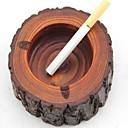 tanie Popielniczki-popielniczka drewniana cygaro drzewo kikut popiołu papierosa tytoń beczka mężczyzn prezent