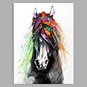 abordables Cuadros de Animales-Pintura al óleo pintada a colgar Pintada a mano - Abstracto / Pop Art Clásico / Modern Sin marco interior