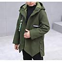 tanie Kurtki i płaszcze dla chłopców-Dzieci Dla chłopców Geometric Shape Długi rękaw Kurtka / płaszcz